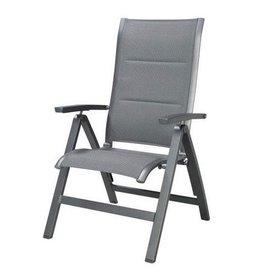 SUNS Roma standenstoel verstelbaar aluminium antraciet