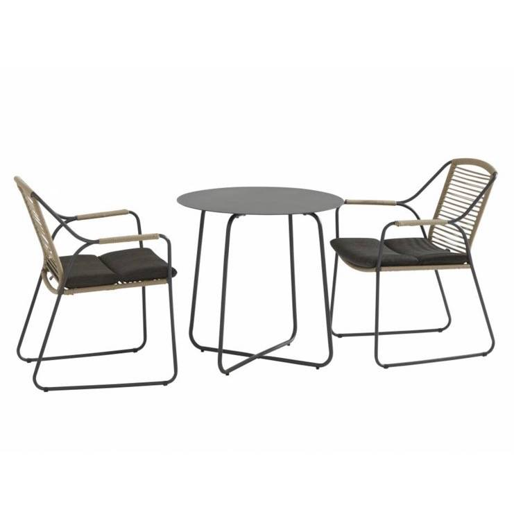 Dali Scandic bistroset 3-delig aluminium rope 4Seasons Outdoor