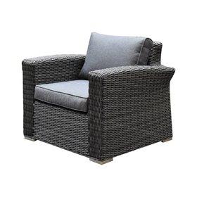 AVH-Collectie Mambo XL lounge tuinstoel antraciet