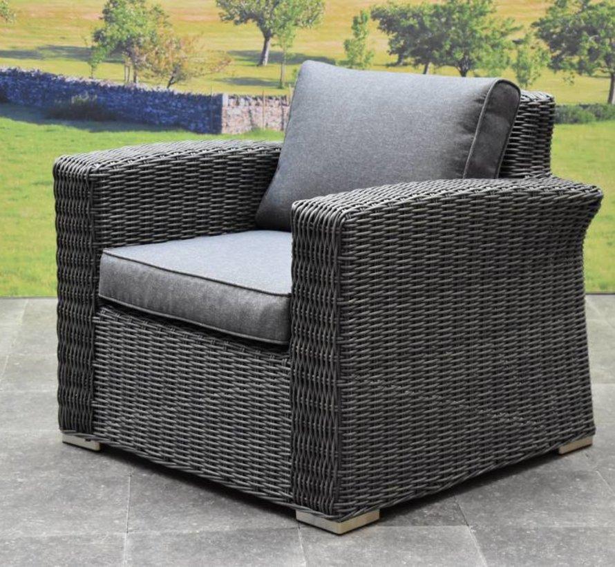 Mambo XL lounge tuinstoel antraciet