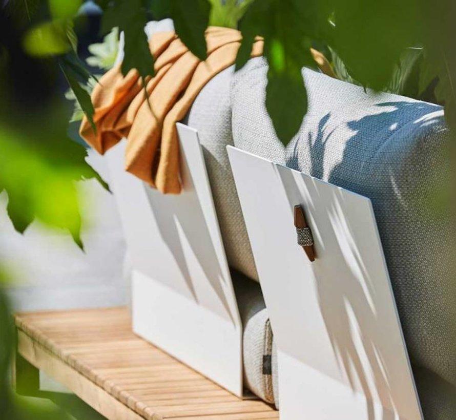 Portofino ligbed chaise longue teak SUNS