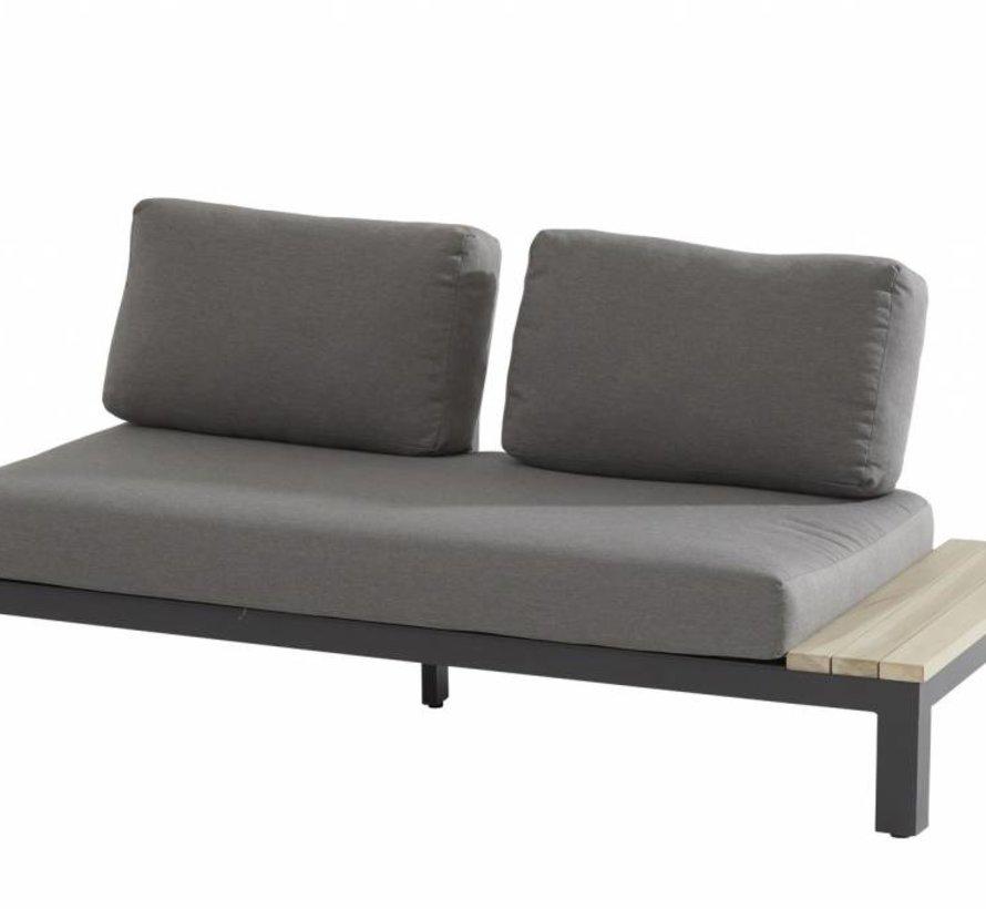 Portofino hoek loungeset 4-delig aluminium teak  Taste 4SO