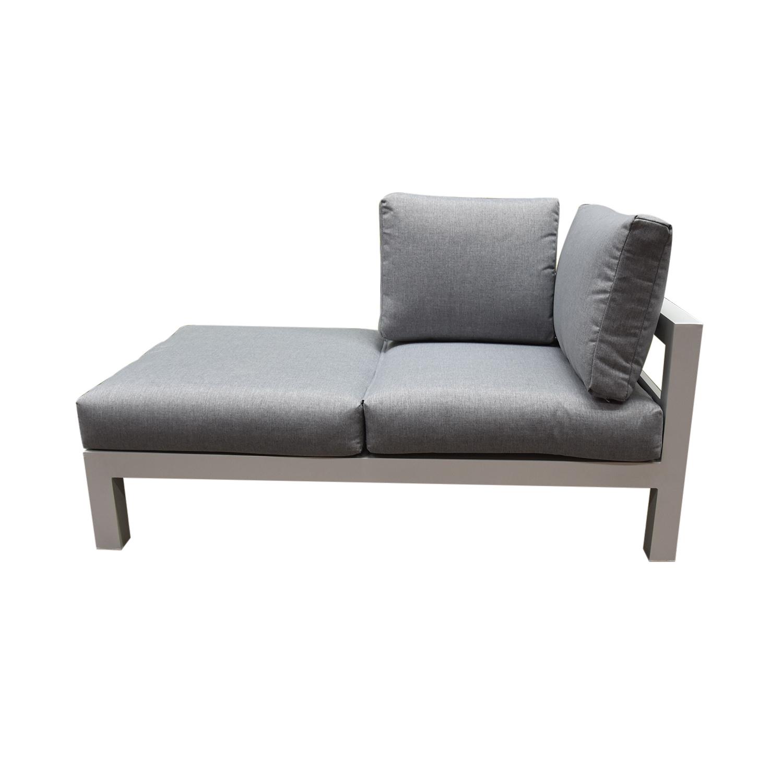 Groovy Avh Collectie Lissabon Chaise Longue Loungeset 3 Delig Wit Aluminium Machost Co Dining Chair Design Ideas Machostcouk