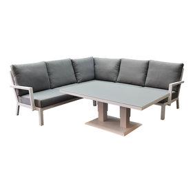 AVH-Collectie New York hoek dining loungeset 4-delig