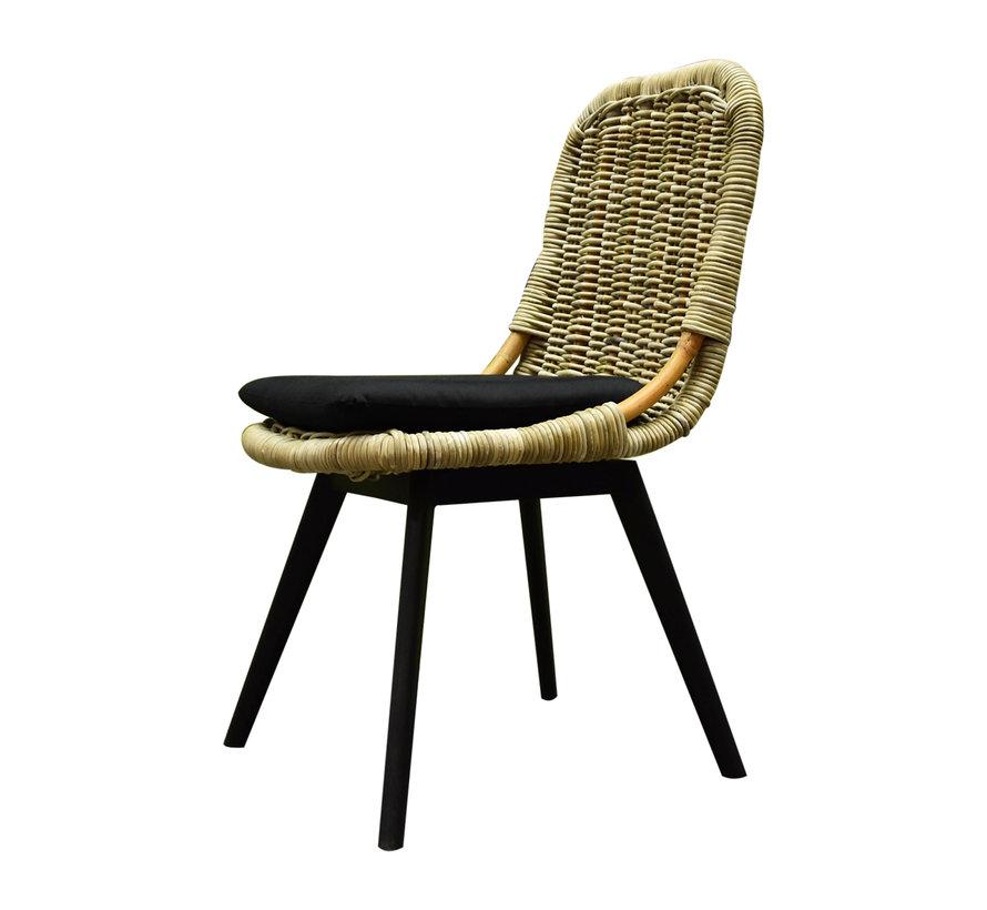Bandung stoel zonder armleuning outlet