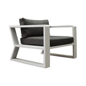 Higold Exee stoel wit aluminium tweedekans