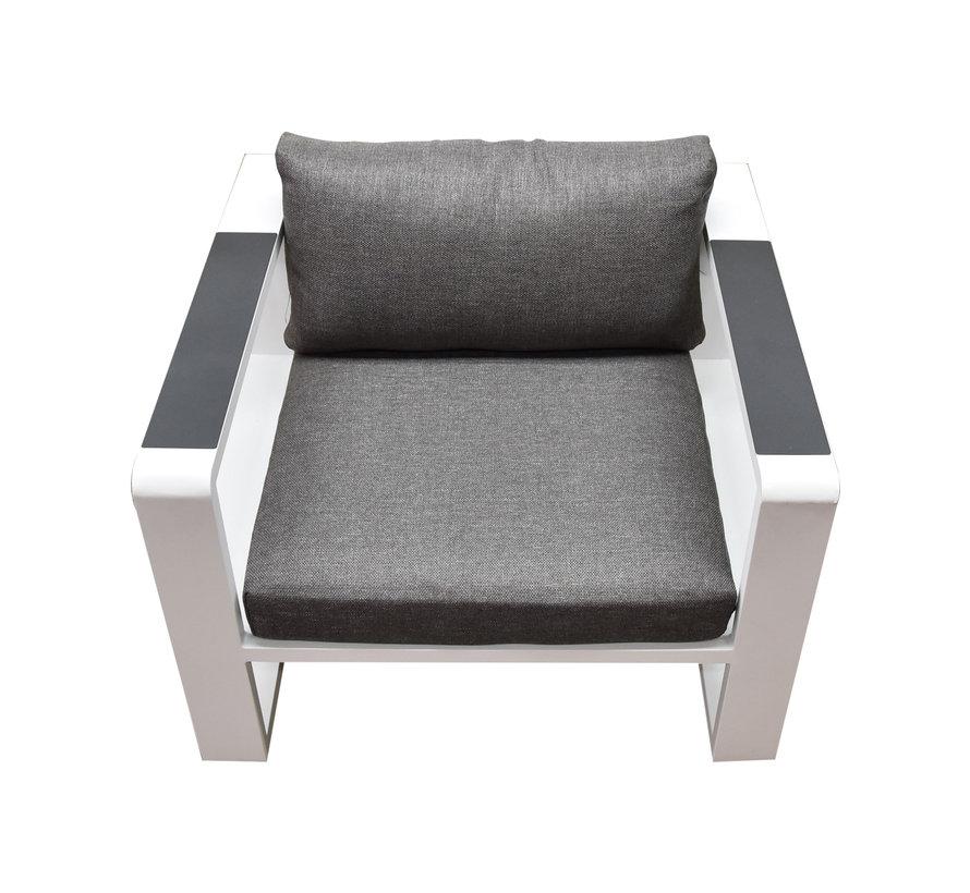 Exee stoel wit aluminium tweedekans