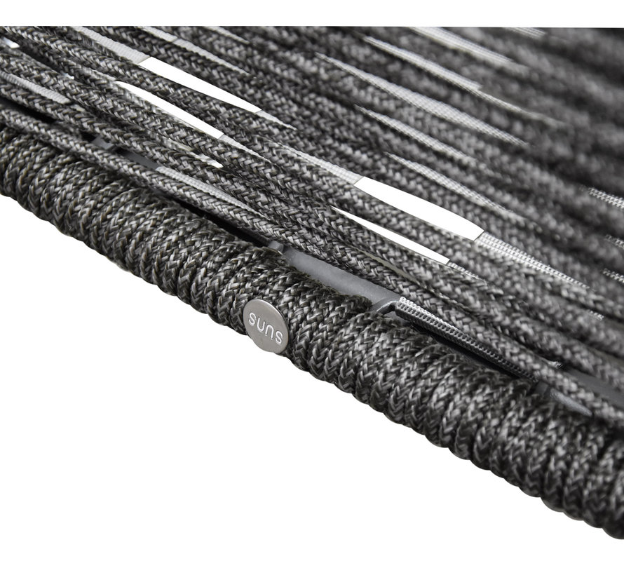 Faros loungeset rope grijs 5-delig