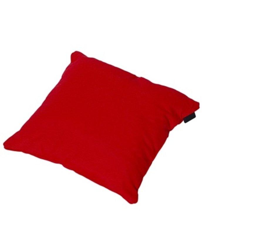Sierkussen 45x45 cm Panama brick red
