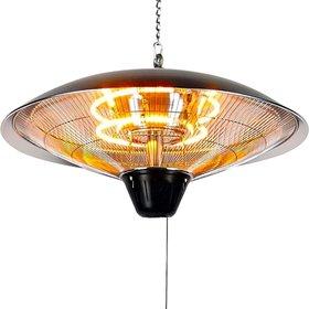 Garden Impressions Warmtelamp Bordeaux hangende heater 60 cm – aluminium antraciet