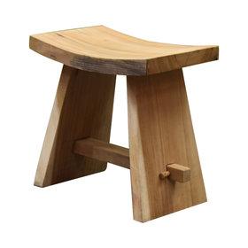 AVH-Collectie Boomstam stool 48x30x47