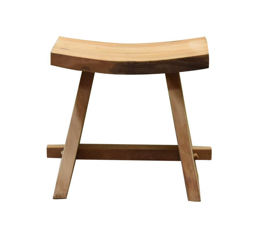 Boomstam stool 48x30xH47 cm