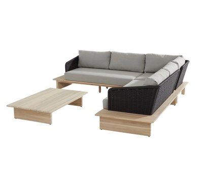 4 Seasons Outdoor Altea hoek loungeset 4 Seasons Outdoor