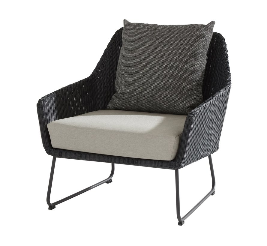 Avila stoel-bank loungeset 4 Seasons Outdoor  4-delig