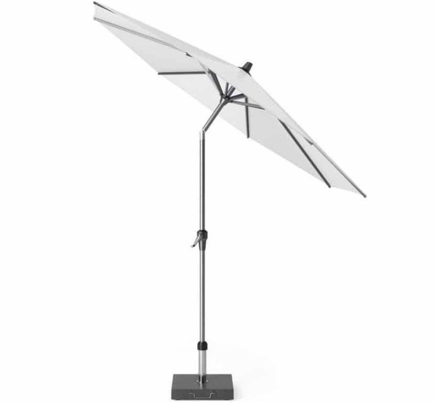 Riva parasol set 270 cm rond met kniksysteem