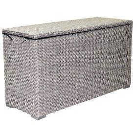 AVH-Collectie Kussenbox klein 126x47xH71 cm grijs