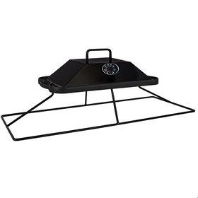 EasyFires Easyfires grillplaat rechthoekig 78x45cm