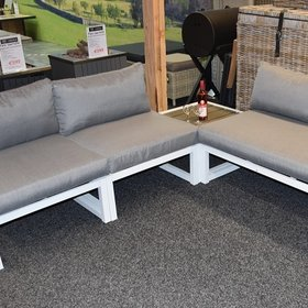 AVH-Collectie Fabri loungeset 4-delig - outlet