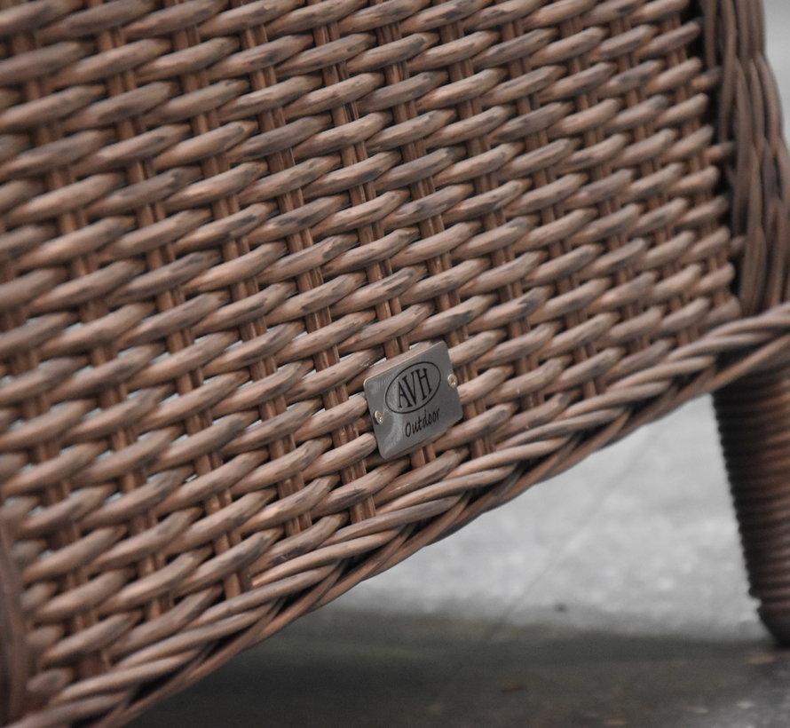 Empoli Bergamo dining tuinset 240x100xH76 cm 7-delig  grijs