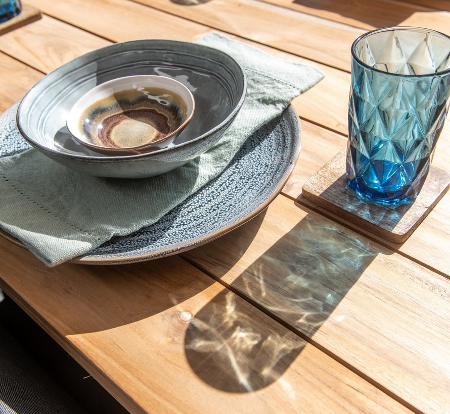 Accor Alto dining tuinset 7-delig 240x100xH76 cm 4 Seasons Outdoor