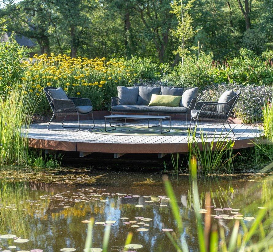 Accor stoel-bank loungeset 4-delig rope 4 Seasons Outdoor