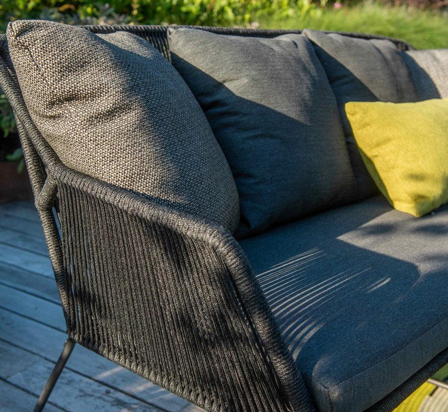 Accor stoel-bank loungeset 4-delig rope 4 Seasons Outdoor