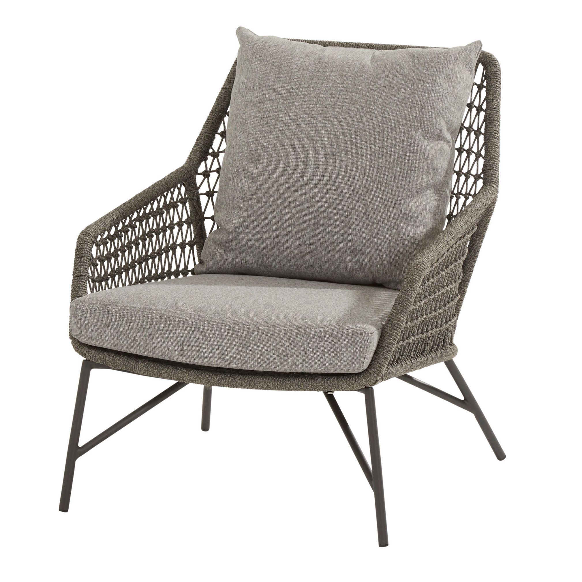 Babylon lounge tuinstoel Mid grey 4-Seasons Outdoor