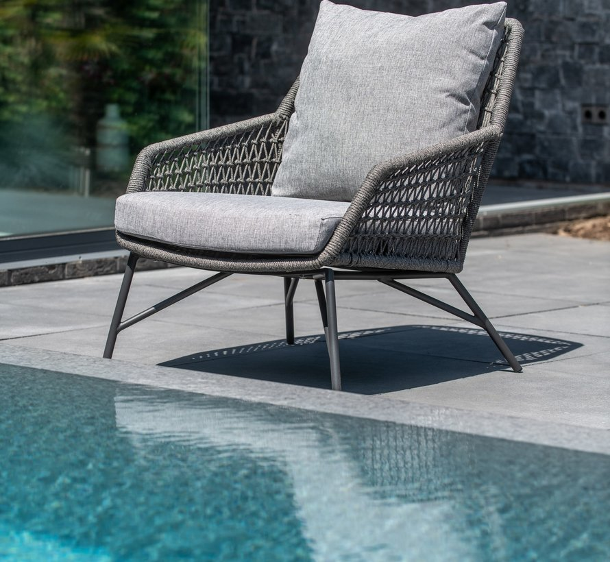 Babilonia stoel-bank loungeset 4-delig rope 4 Seasons Outdoor