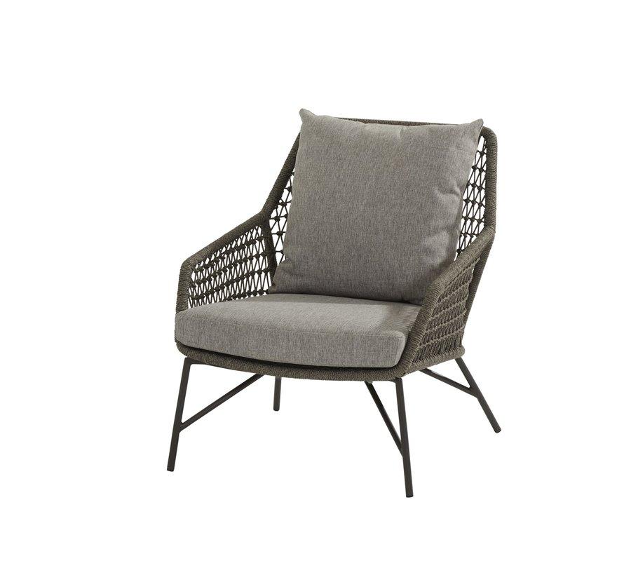 Babilonia stoel-bank loungeset 3-delig rope 4 Seasons Outdoor