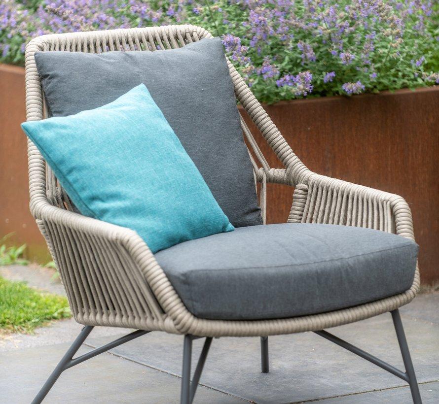 Ramblas lounge tuinstoel taupe 4-Seasons Outdoor