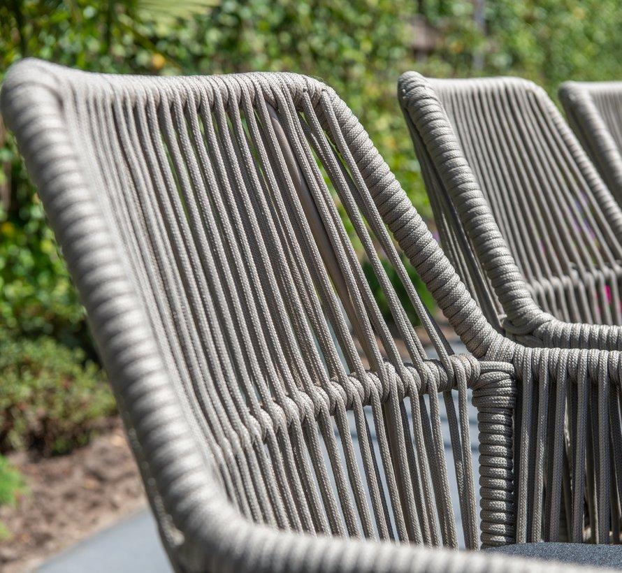 Ramblas Quatro dining tuinset 5-delig 120 cm rond 4 Seasons Outdoor