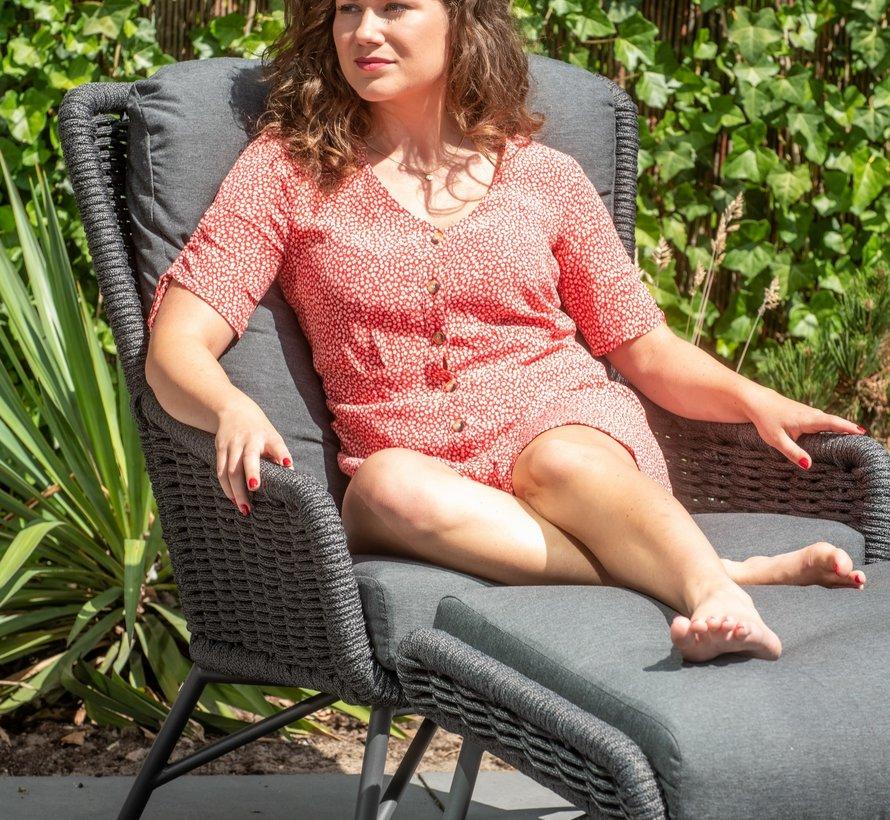 Wing stoel-bank loungeset 5-delig rope 4 Seasons Outdoor