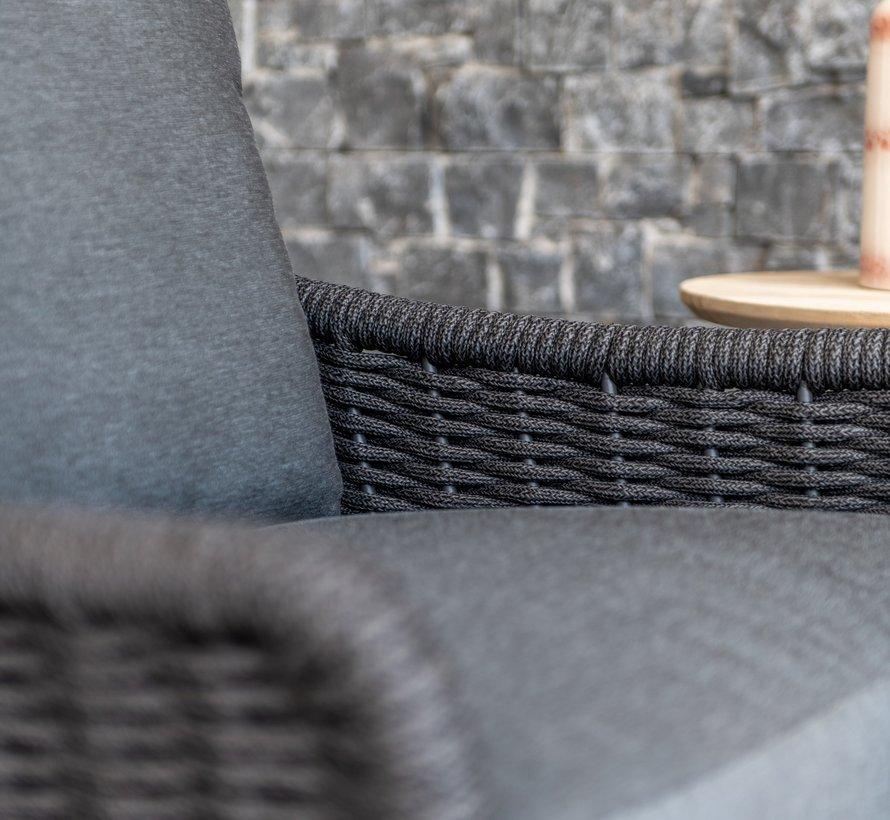 Wing stoel-bank loungeset 4-delig rope 4 Seasons Outdoor