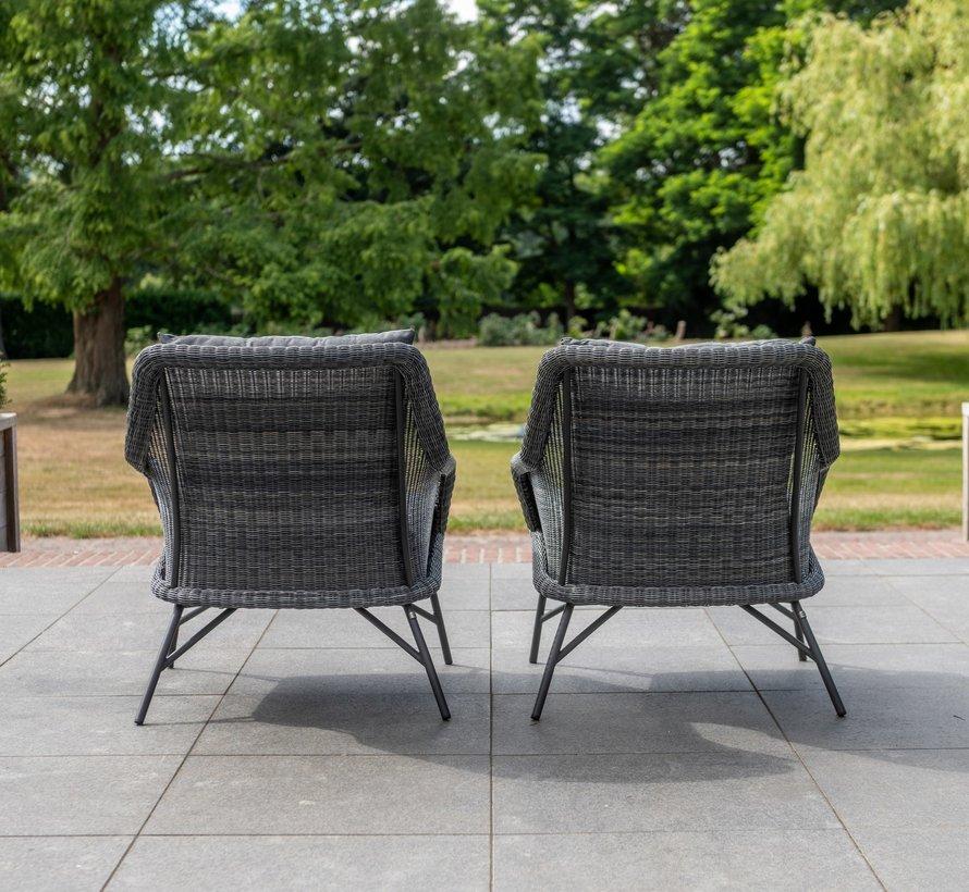Samoa stoel-bank loungeset 5-delig 4-Seasons Outdoor