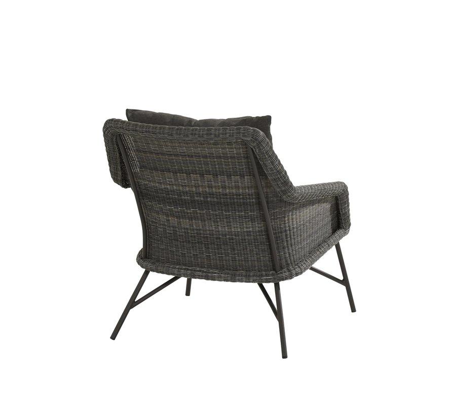 Samoa stoel-bank loungeset 4-delig 4-Seasons Outdoor