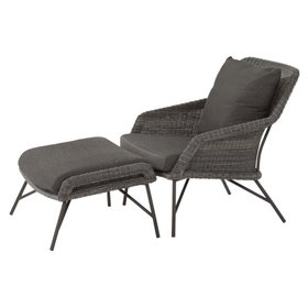 4 Seasons Outdoor Samoa lounge balkonset 2-delig 4 Seasons Outdoor