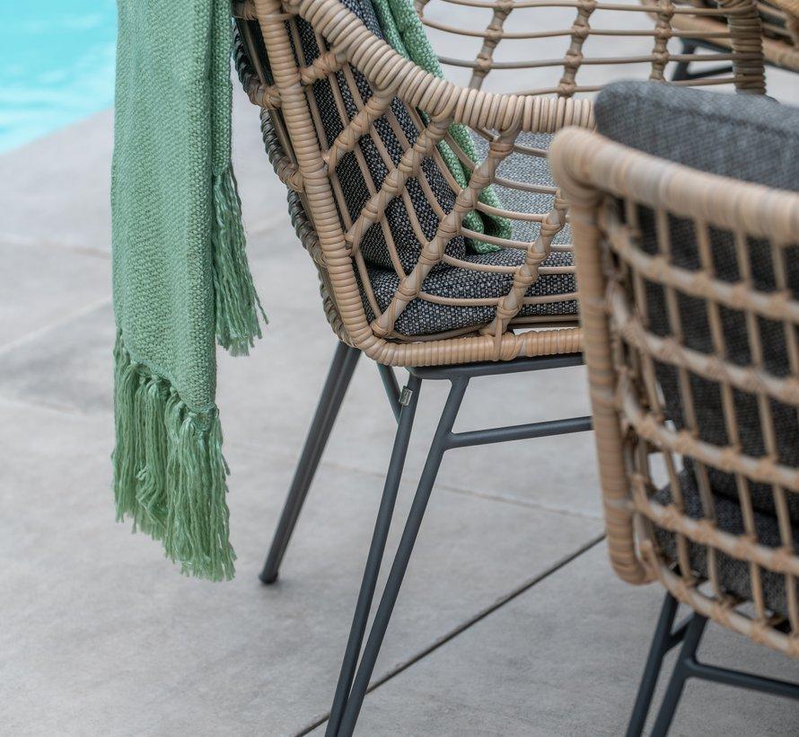 Cottage dining tuinstoel Hara teak 4-Seasons Outdoor