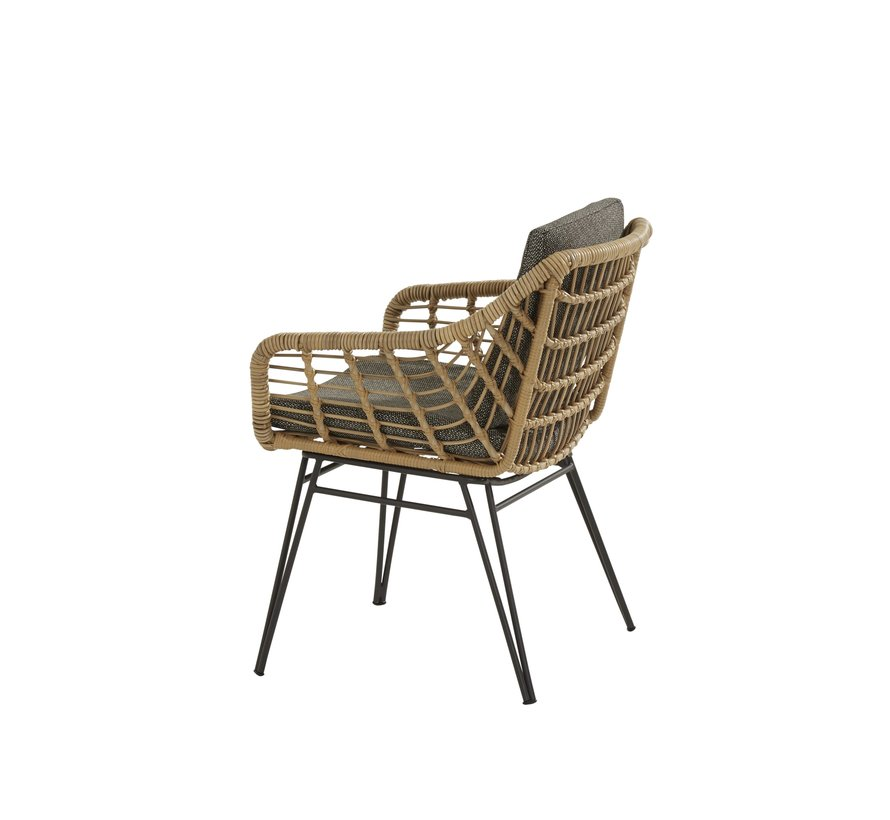 Cottage Quatro dining tuinset 5-delig 120cm rond 4 Seasons Outdoor