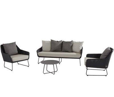 4 Seasons Outdoor Avila stoel-bank loungeset 4 Seasons Outdoor  4-delig