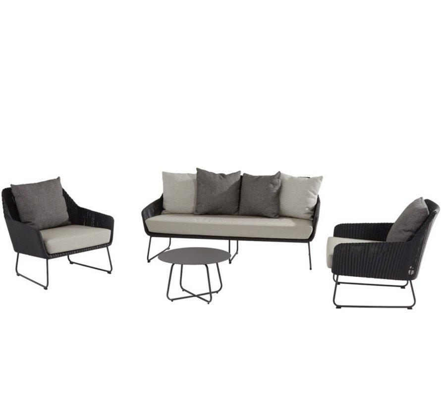Avila stoel-bank loungeset 4 Seasons Outdoor  4-delig