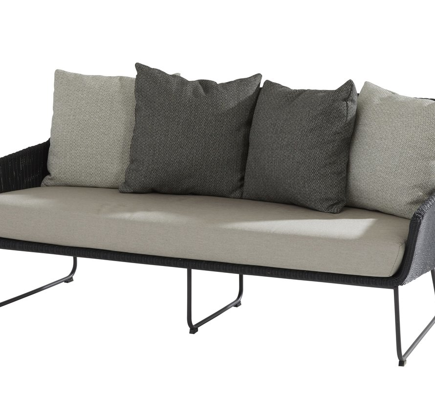 Avila stoel-bank loungeset 4-delig 4 Seasons Outdoor