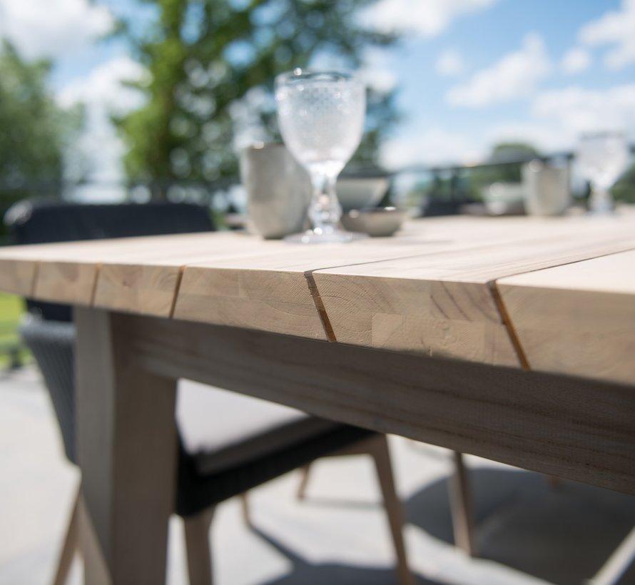 Derby dining tuintafel 240x100xH75 cm teakhout
