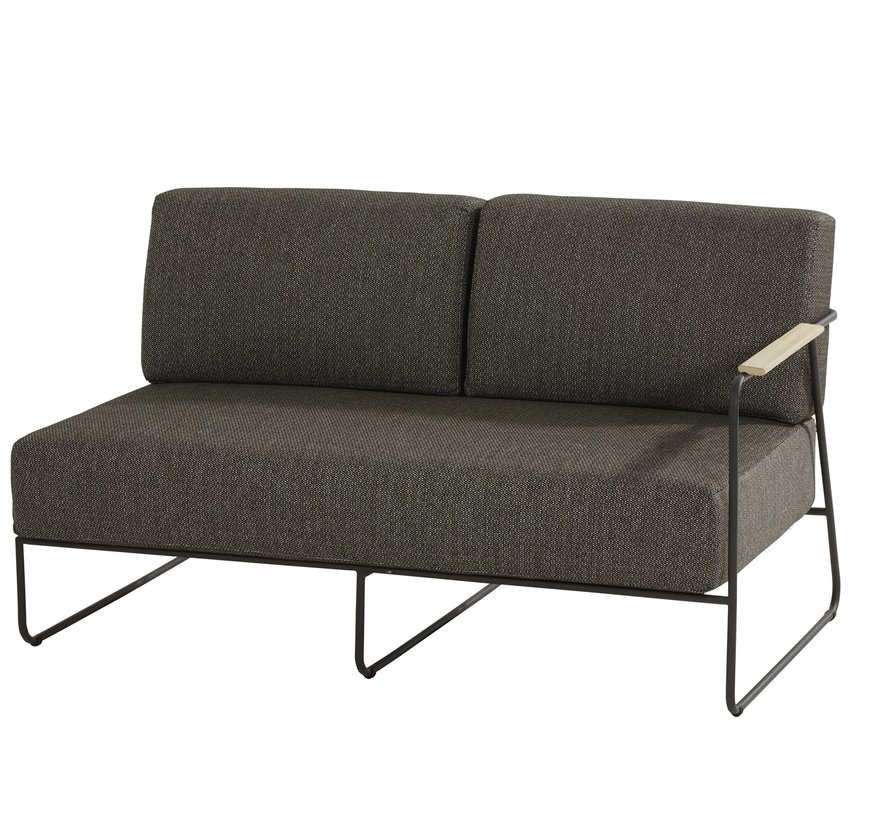 Coast hoek loungeset 5-delig aluminium 4 Seasons Outdoor