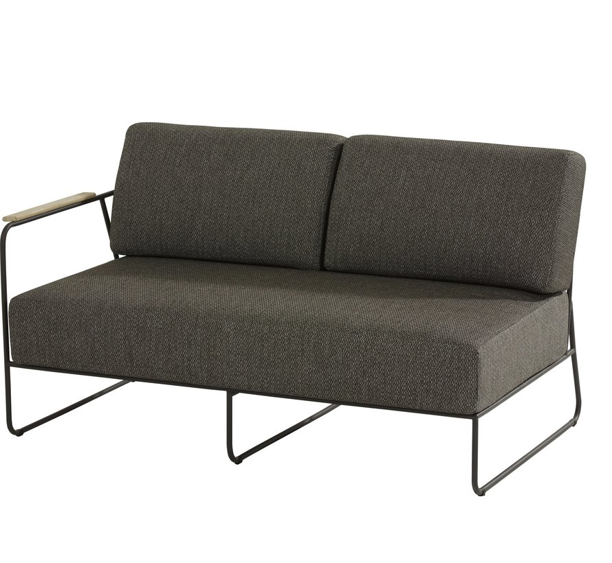 Coast hoek loungeset 5-delig aluminium 4 Seasons Outdoor