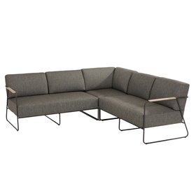 4 Seasons Outdoor Coast hoek loungeset 3-delig aluminium 4 Seasons Outdoor