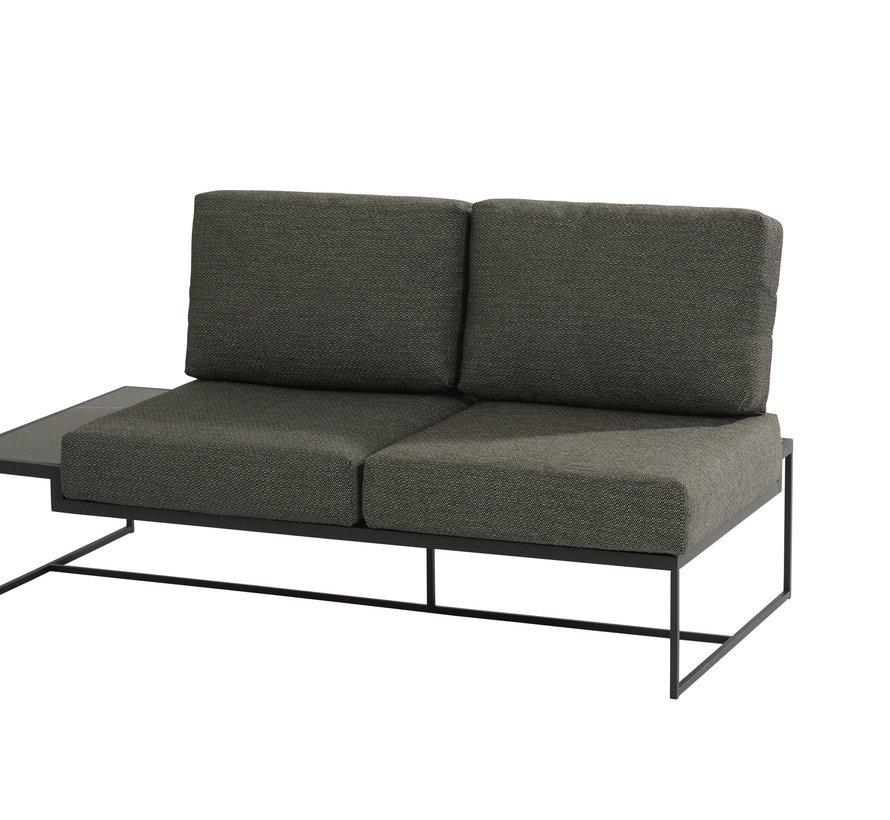 Patio hoek loungeset 4-delig aluminium 4 Seasons Outdoor