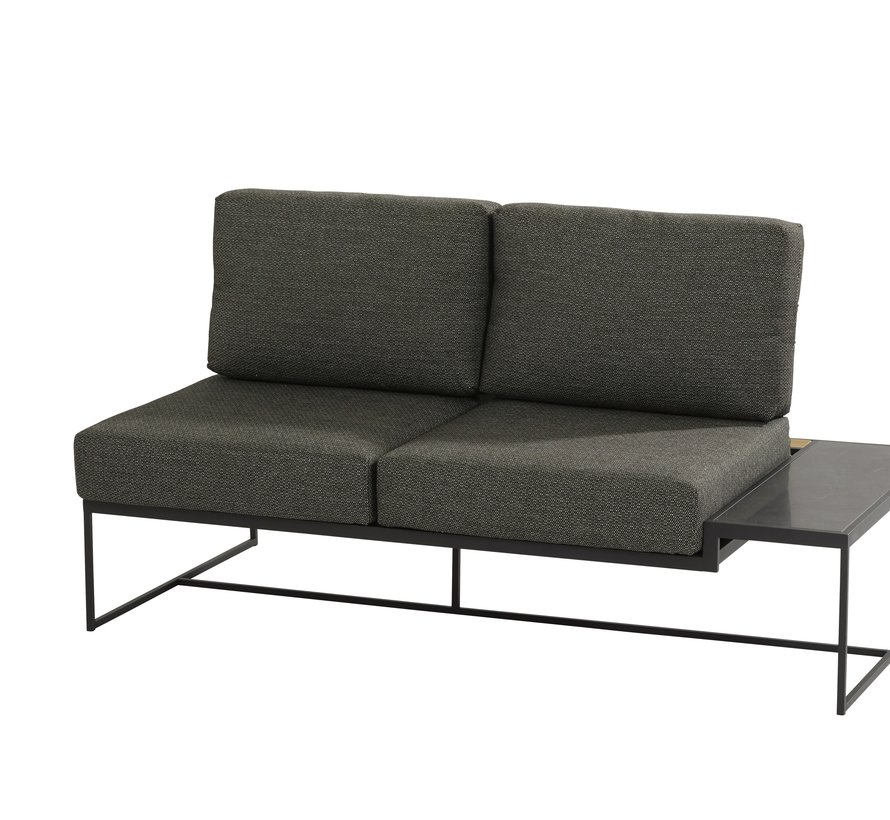 Patio hoek loungeset 4-delig aluminium 4 Seasons Outdoor