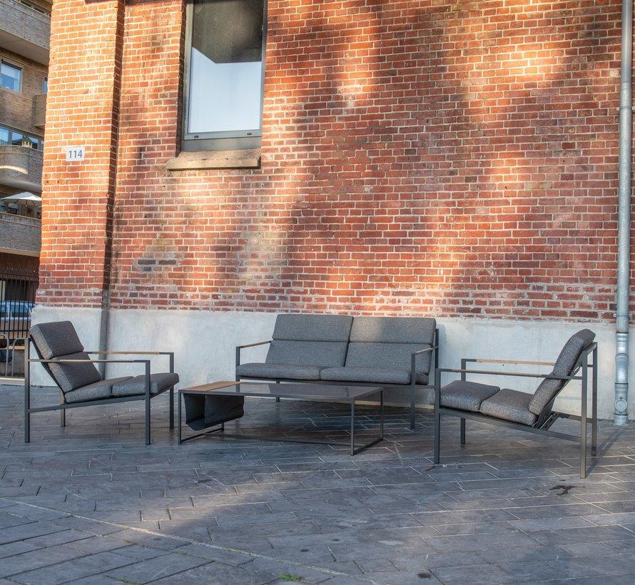 Trentino stoel-bank loungeset 4-delig 4 Seasons Outdoor