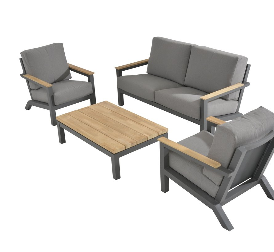 Capitol stoel-bank loungeset 4-delig 4 Seasons Outdoor