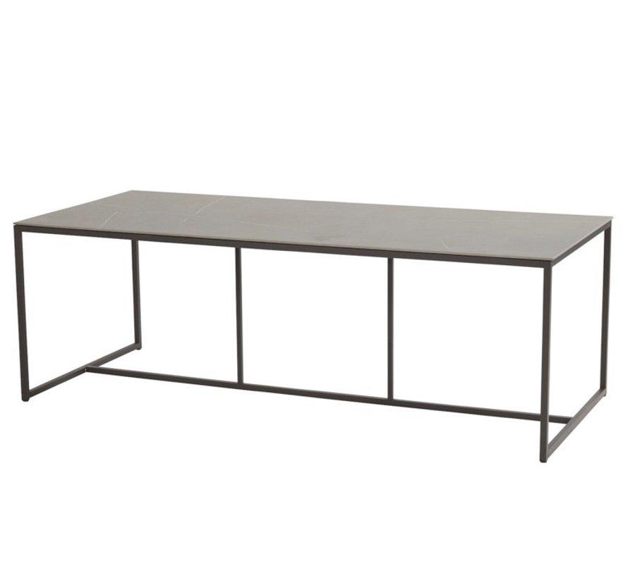 Quatro dining tuintafel 220x95xH75 cm keramiek 4 Seasons Outdoor